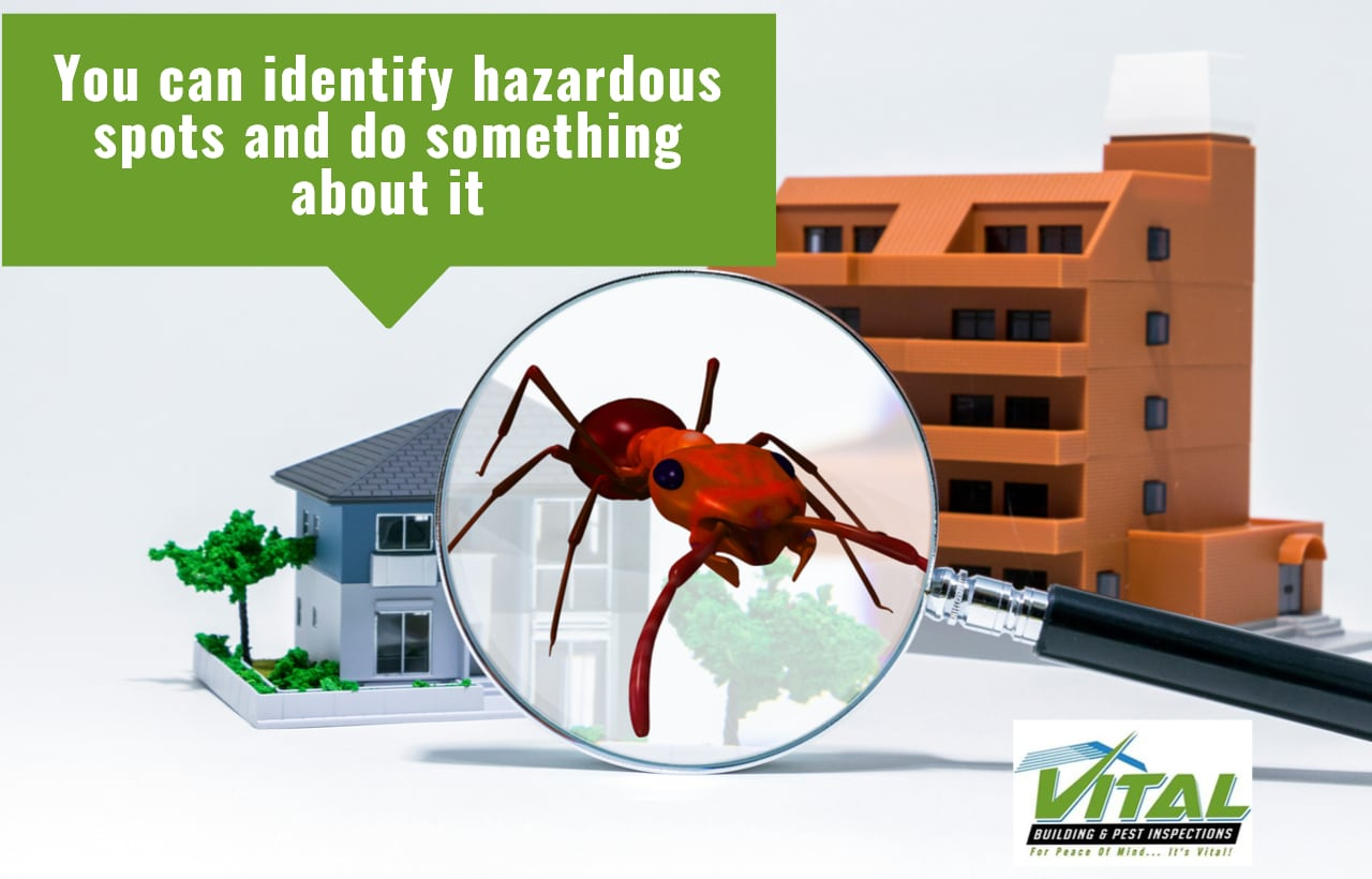 You can identify hazardous spots and do something about it