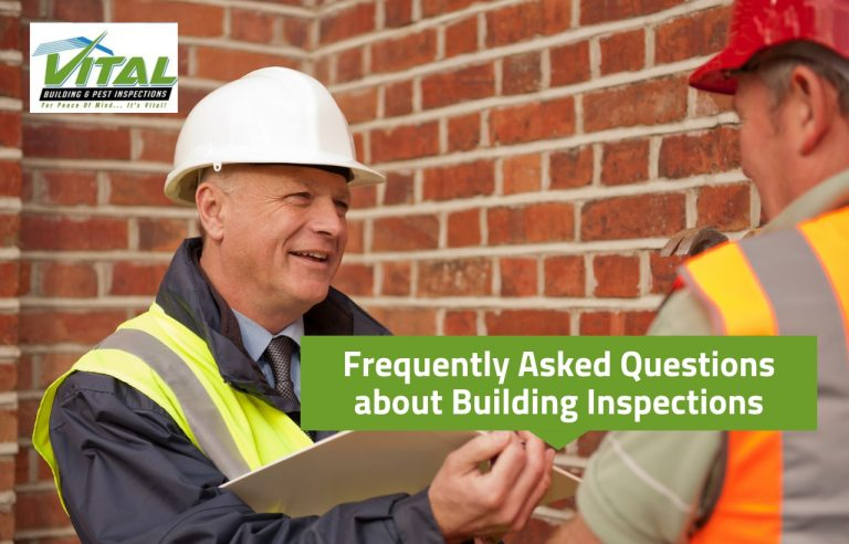 Frequently Asked Questions about Building Inspections