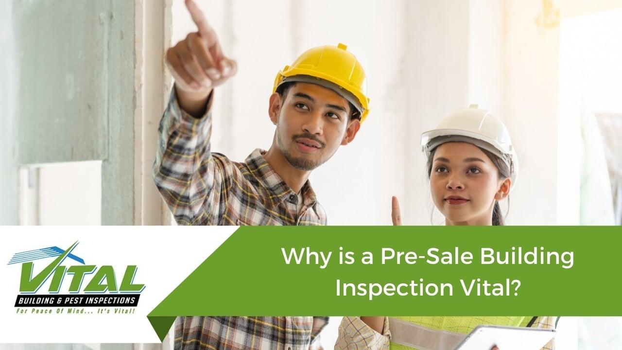 Pre sale building inspection