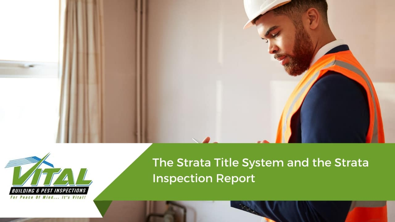 The Strata Title System and the Strata Inspection Report