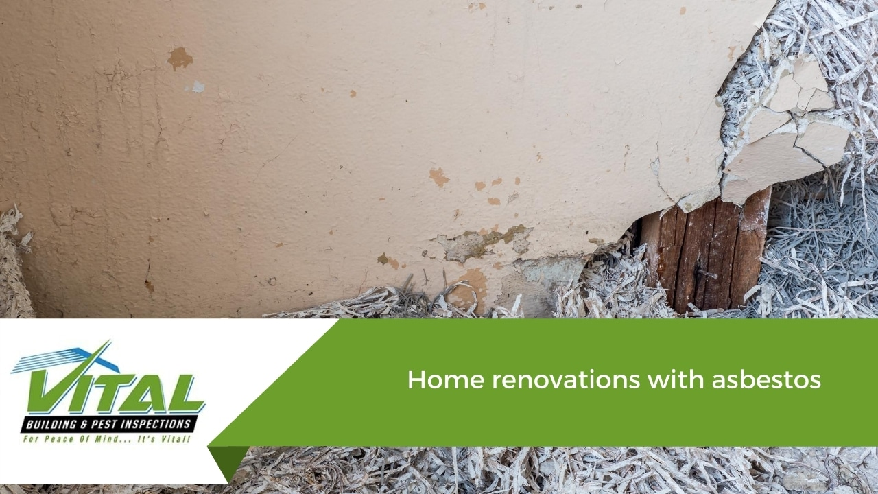 Home renovations with asbestos