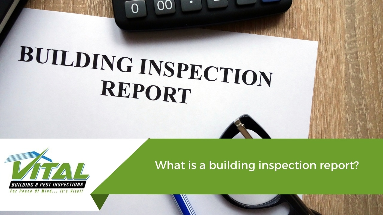 What is a building inspection report