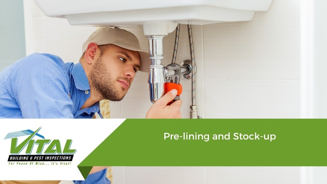 Property Inspection - Pre-lining and Stock-up