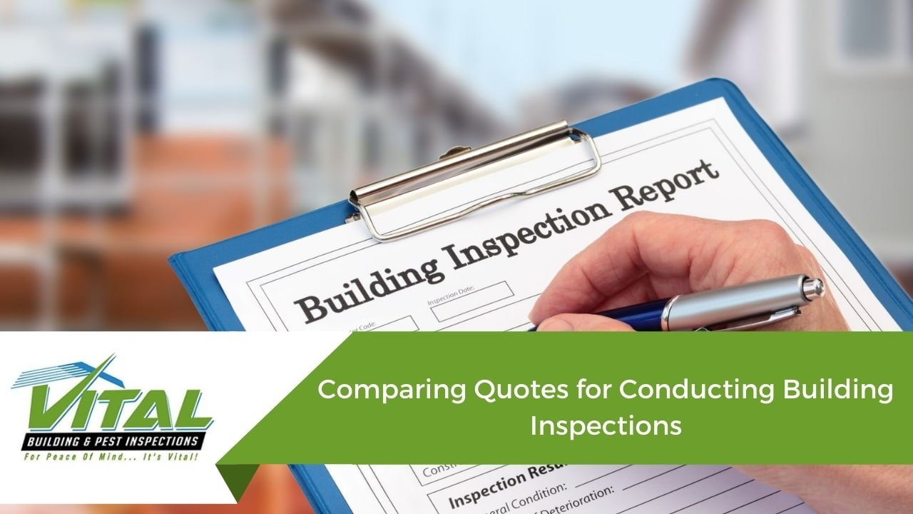 Comparing Quotes for Conducting Building Inspections