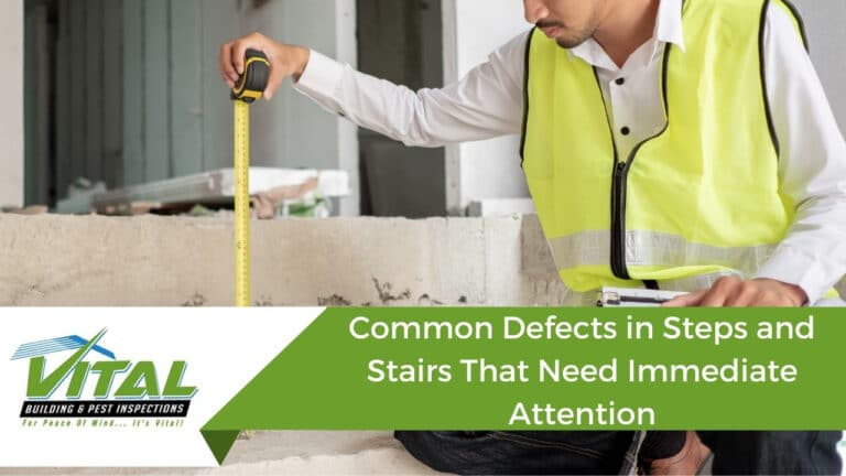 Common Defects in Steps and Stairs That Need Immediate Attention