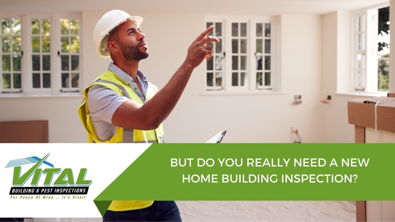 BUT DO YOU REALLY NEED A NEW HOME BUILDING INSPECTION